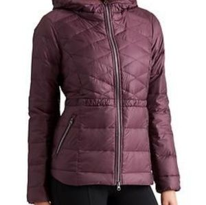 Athleta Down Puffer Jacket Packable Coat
